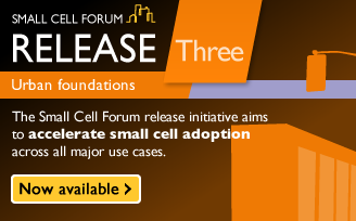 Small Cell Forum Release Three Urban - Available now