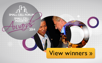 View winners - Small Cell Industry Awards 2014