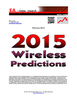 EJL Wireless Research Announces its 2015 Predictions for Wireless RAN Technology